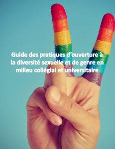 Guide des pratiques d'ouverture à la diversité sexuelle et de genre en milieu collégial et universitaire