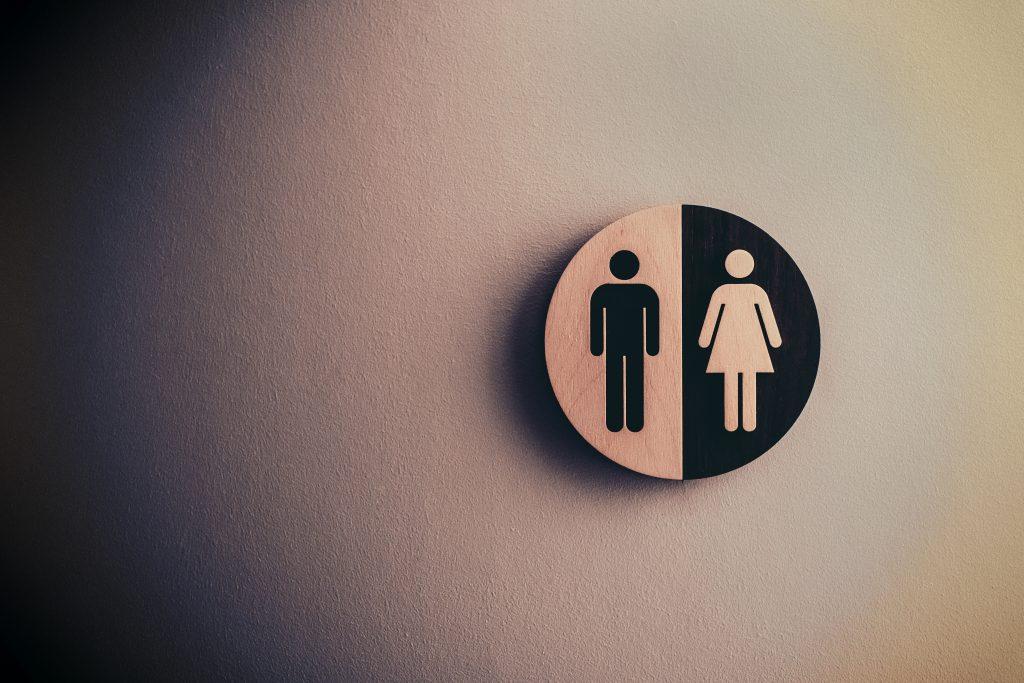 signe toilette